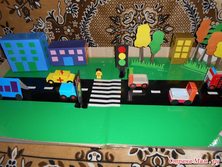 Рисунки и поделки по пдд в детском саду 49